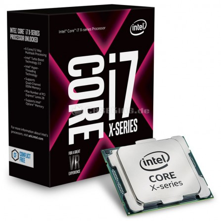 Processeur INTEL Core I7-7800X