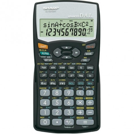 Calculatrice Scientifique EL-531WH-BK / Noir