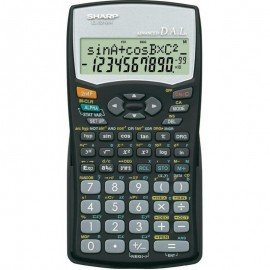 Calculatrice Scientifique Sharp Noir (EL-531WH-BK)