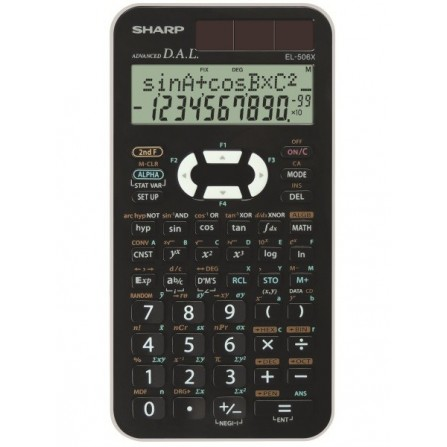 Calculatrice Scientifique EL-506W-BK
