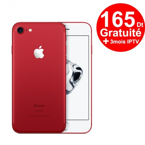 Prix Iphone 7 128go Red Edition Iphone7 128 Red Tunisie Technopro
