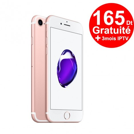 Téléphone Portable Apple iPhone 7 / 128 Go / Or rose