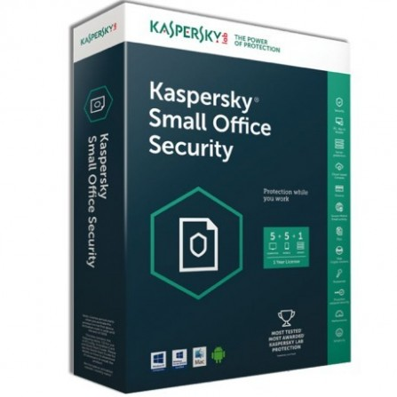 AntiVirus Kaspersky Small Office Security 5.0 ( 20 poste + 2 Serveur )