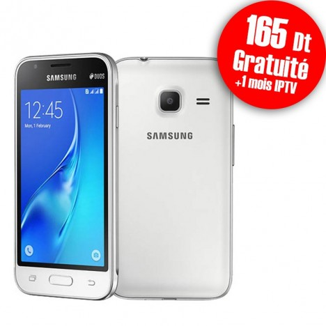Telephone Portable Samsung Galaxy J1 Mini Double SIM Blanc