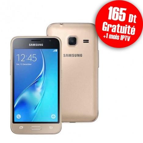 Telephone Portable Samsung Galaxy J1 Mini Double SIM Gold