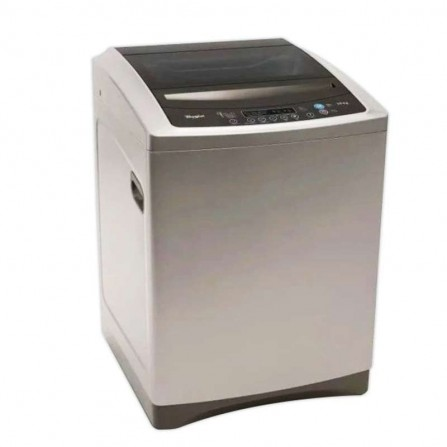 Machine à laver top load Whirlpool 10.5Kg - Silver (WTL1000FRSL)