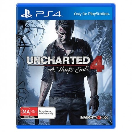 Jeux PS4 UNCHARTED 4: A Thief's End