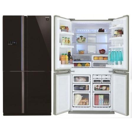 Réfrigérateur Sharp No Frost 724L - Noir (SJ-FS85V-BK5)