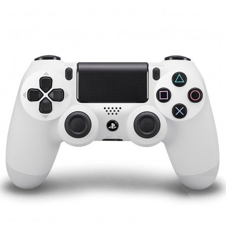 Manette Sony Sans Fil pour PS4 V2 Blanc