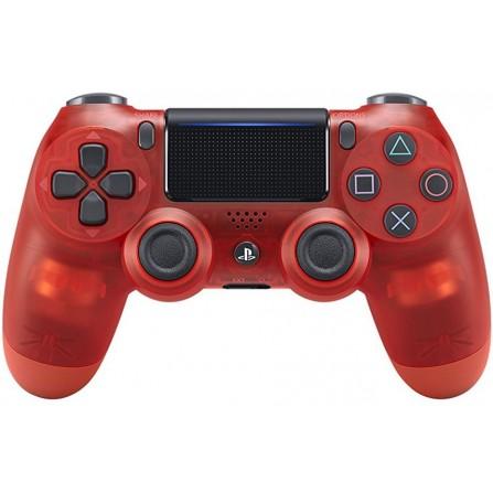 Manette Sony Sans Fil pour PS4 V2 | Crystal Rouge