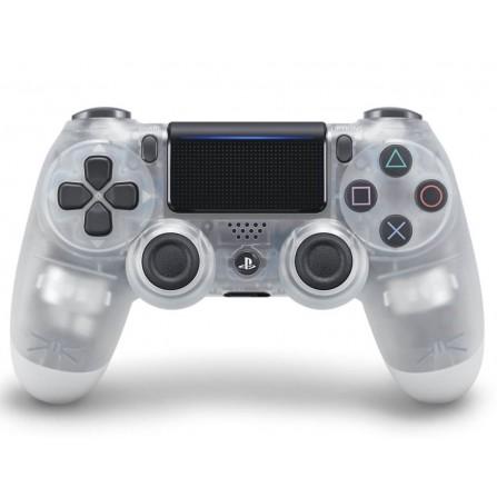 Manette Sony Sans Fil pour PS4 V2 | Crystal Blanc