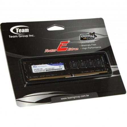 Barrette Mémoire TEAM GROUP 4Go DDR4 Pour PC De Bureau (TED44G2400C16-SBK)