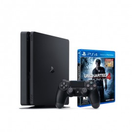 Console Playstation Sony PS4 1 To + 1 Manette + 1 Jeux Uncharted
