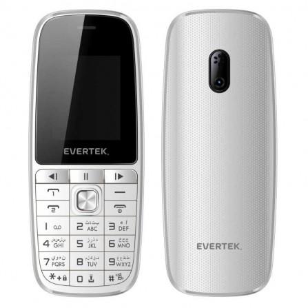 Téléphone Portable EVERTEK VAMOS Blanc
