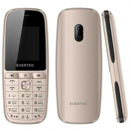 Téléphone Portable EVERTEK VAMOS Gold