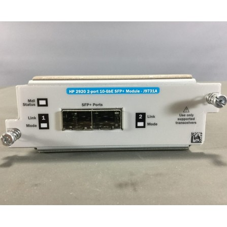 Module HP 2920 2 Port 10GBE SFP+