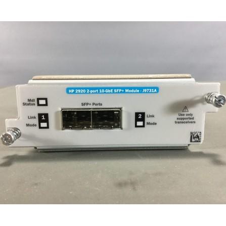 Module HP 2920 2 Port 10GBE SFP+ - J9731A