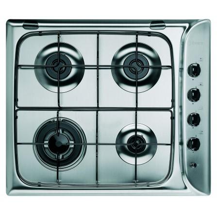 Table de cuisson à gaz INDESIT 60 cm PIM-640-AST-IX