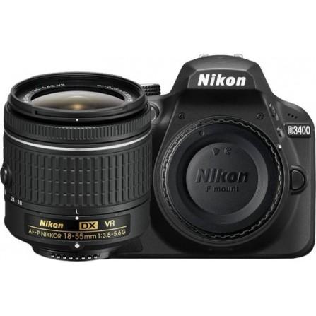 Appareil Photo NIKON D3400 + Objectif 18-55 mm