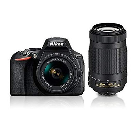Appareil Photo Réflex Numérique Nikon D5600 + Obj Nikkor 18-55mm
