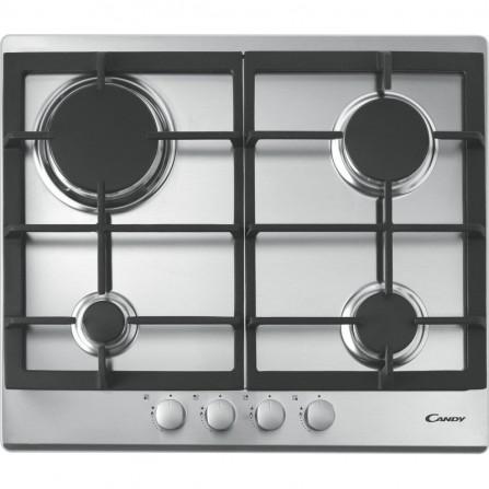Plaque de cuisson à Gaz CANDY 4 FEUX INOX CPG64SGX