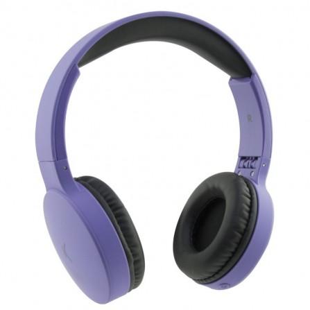 Casque Bluetooth KSix Violet BXAUPBT01M
