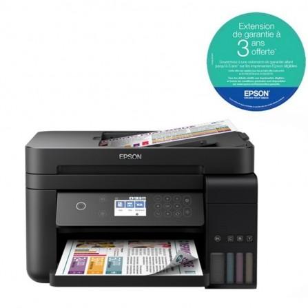 Imprimante Jet d'Encre Epson ECOTANK ITS L6190 4En1 Couleur Wifi