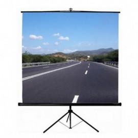 Ecran de projection trépied screen ORAY 180x180 cm - Blanc (TRE03B1180180)