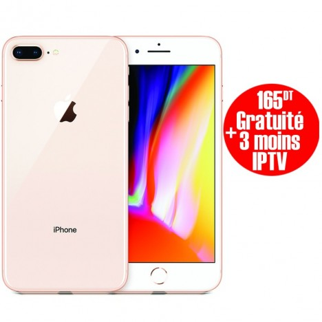 Prix Apple Iphone 8 Plus 64go Gold Tunisie Technopro
