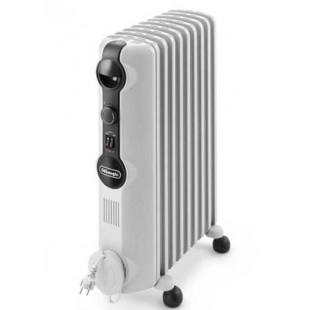 Radiateur bain d'huile Delonghi 9 éléments 2000 Watt - Blanc (TRRS0920)