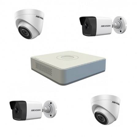 Pack Vidéo Surveillance Hikvision DVR+ 2 Caméra Interne+ 2 Camera Externe