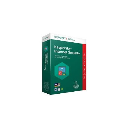 Kaspersky internet security 2019 - 1 an / 3 postes