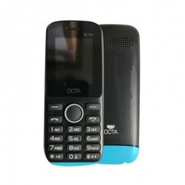 Téléphone portable Octa O-111 double SIM Noir /Bleu