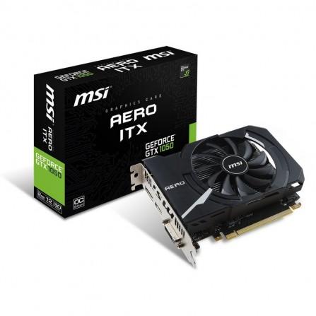Carte graphique MSI GeForce GTX 1050AERO ITX 2 Go OCV1