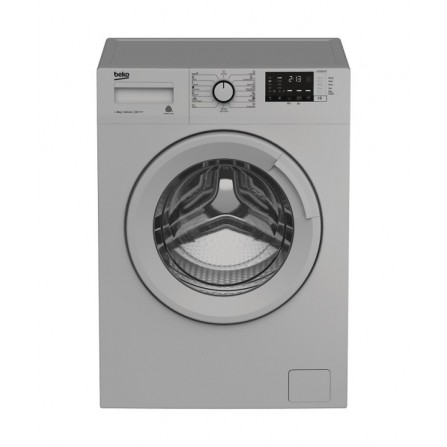 Machine à laver automatique Beko 8kg - Silver (WTV8511XS0)