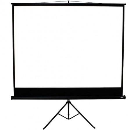 Ecran de Projection Sur Trépied 178 x 178 cm