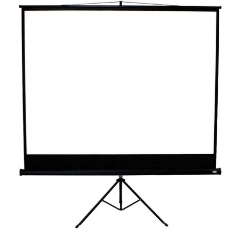 Ecran de projection Telon trépied 244 x 244 cm - Blanc (ECRT244X244)
