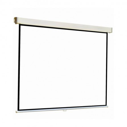 Ecran de projection Telon mural 213X 213 cm - Blanc (ECR/M/213213)