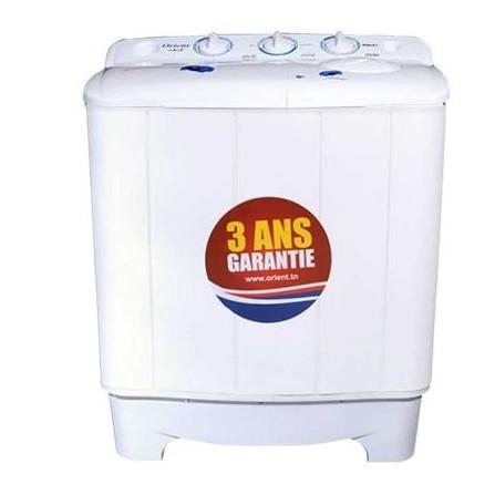 Machine à laver semi automatique Orient 9kg - Blanc (XPB 2-9-1)