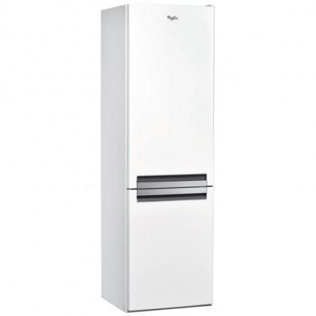 Réfrigérateur combiné Whirlpool DeFrost 360L - Blanc (BLF8121W)