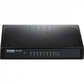 Switch D-Link 8 ports Gigabit 10/100/1000Base-T (DGS-1008A/E)