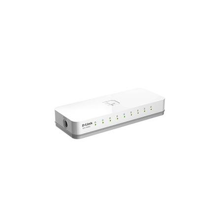 Switch D-Link 8 ports Gigabit 10/100 Mbps