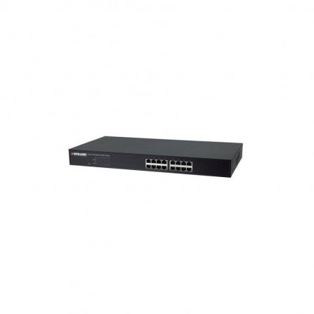 Switcheur 24 Port Poe 10/100/100 Intellinet avec 2 ports SFP