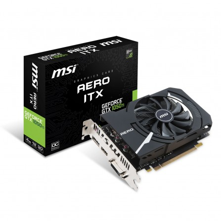 Carte Graphique MSI Geforce GTX 1050TI Aero ITX 4G OC