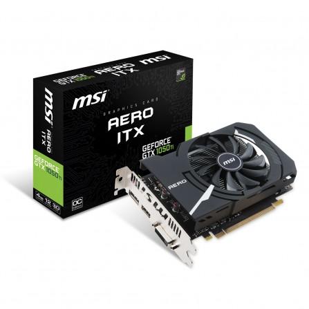 Carte Graphique MSI Geforce GTX 1050TI Aero ITX 4G OC