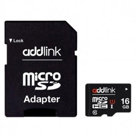 Carte Mémoire ADDLINK 16Go/ Class 10 avec Adaptateur