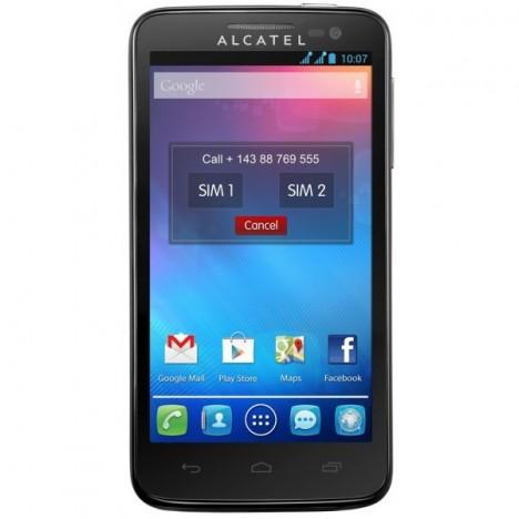 Téléphone Portable Alcatel OneTouch X'POP + Carte Mémoire 2 Go / Double SIM
