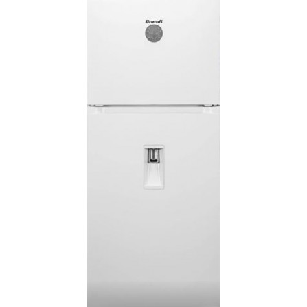 Réfrigérateur Brandt NoFrost 480L avec distributeur d'eau et afficheur - Blanc (BD4712NWW)