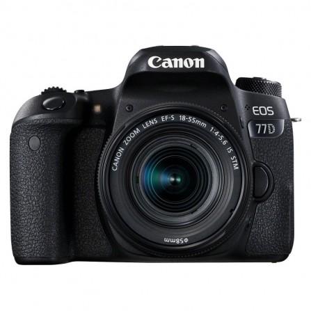 APPAREIL PHOTO REFLEX CANON EOS 77D + 18-55 IS STM