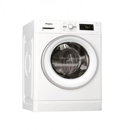 Machine à laver frontale Whirlpool 7kg - Blanc ( FWG71253W NA)